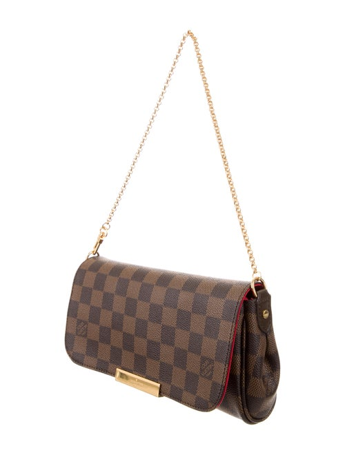 1a40088d Louis Vuitton Damier Ebene Favorite PM w/ Strap - Handbags ...