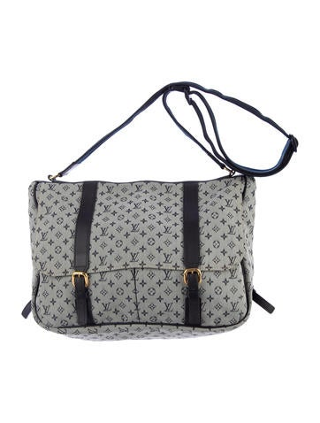 louis vuitton mini lin sac a langer baby bag handbags. Black Bedroom Furniture Sets. Home Design Ideas