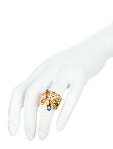 Monogram Collection Ring