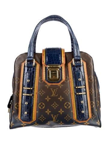 Monogram Mirage Delft Exotic Bag