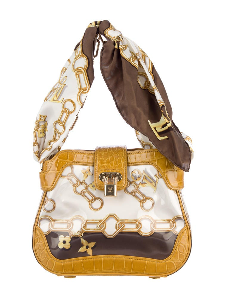 Louis Vuitton Linda Monogram Charms Scarf Bag Handbags