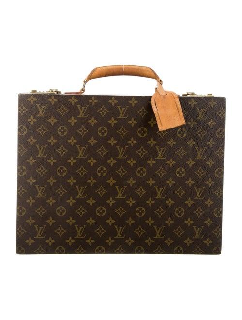Louis Vuitton Vintage Monogram Briefcase brown