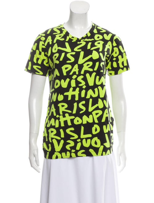 Louis Vuitton Stephen Sprouse Graffiti Graphic T-S
