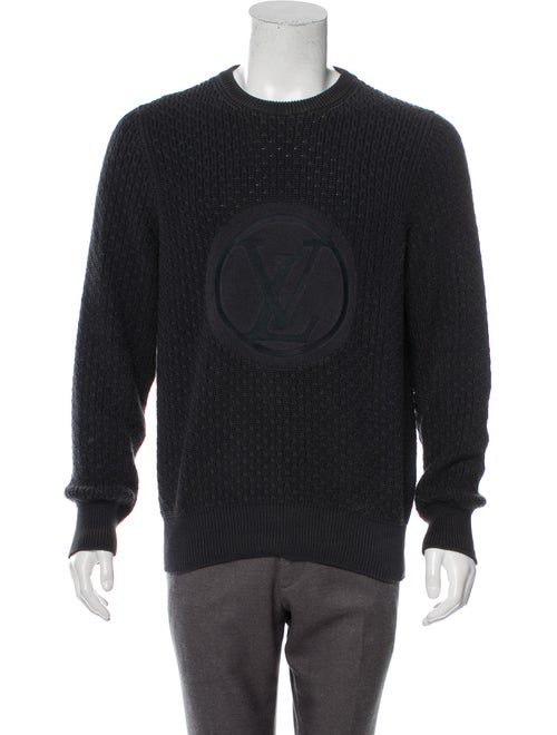 Louis Vuitton Logo Embroidered Sweater