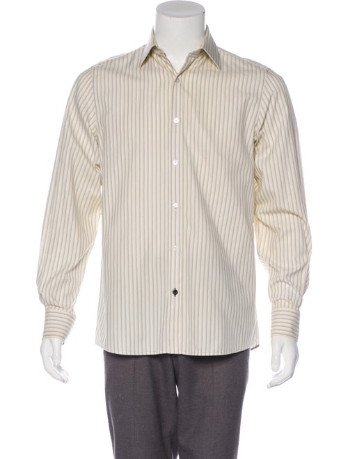 Louis Vuitton Striped Button-Up Shirt multicolor