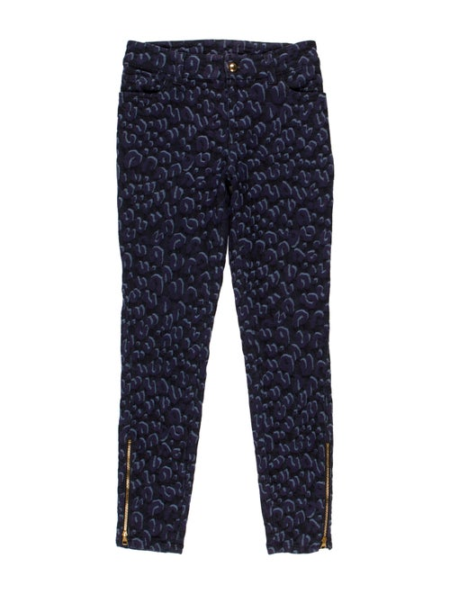 Louis Vuitton Printed Skinny Jeans Blue