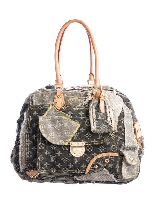 Louis Vuitton Denim Patchwork Bowly denim