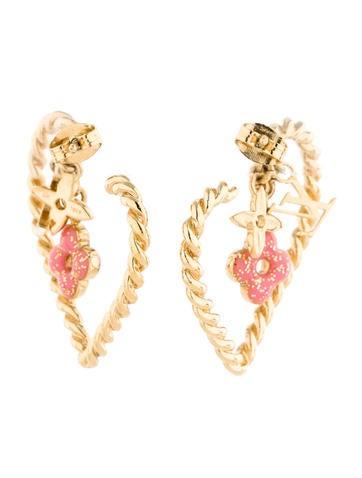 Sweet Monogram Earrings