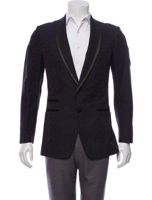 Louis Vuitton Jacquard Tuxedo Jacket