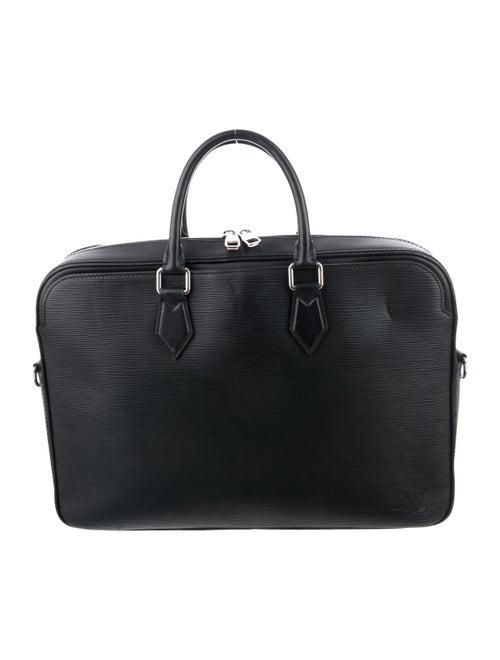 Louis Vuitton Epi Dandy PM Briefcase navy