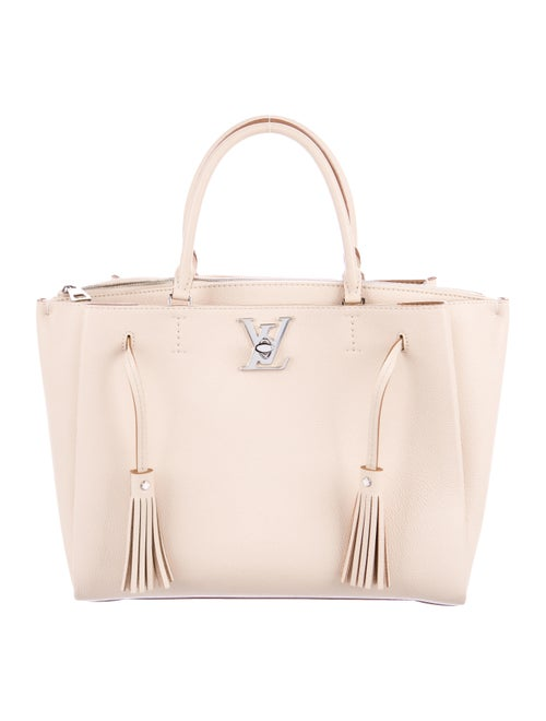 Louis Vuitton Lockmeto Bag Champagne