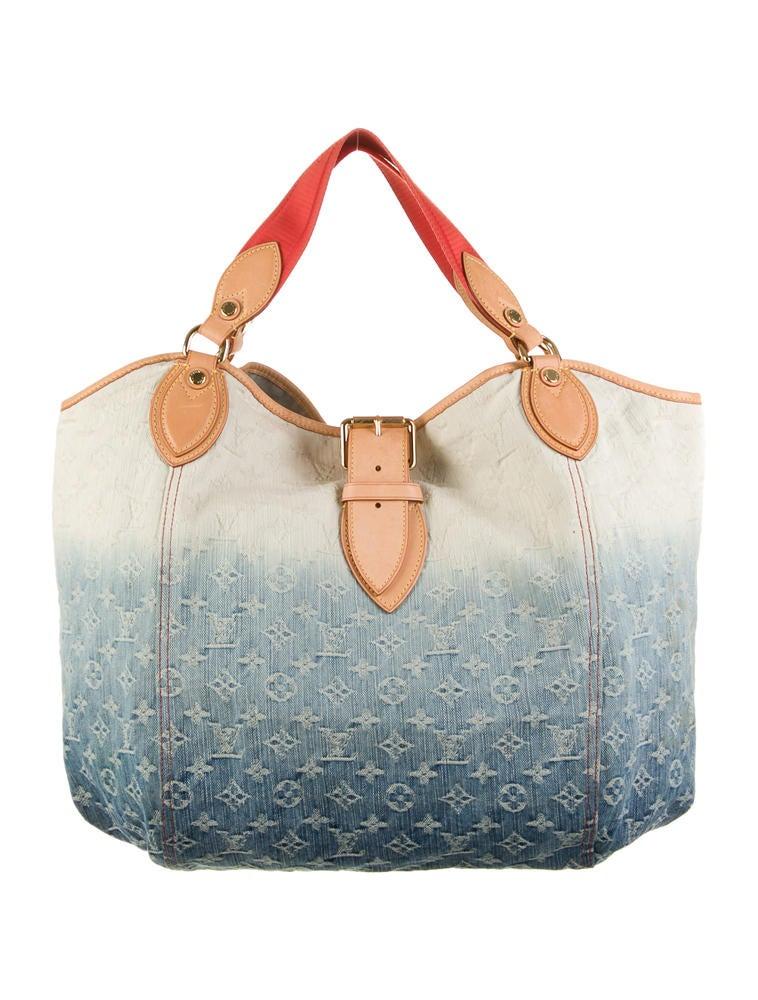 Louis Vuitton Denim Sunbeam Bag - Handbags - LOU31686 | The RealReal