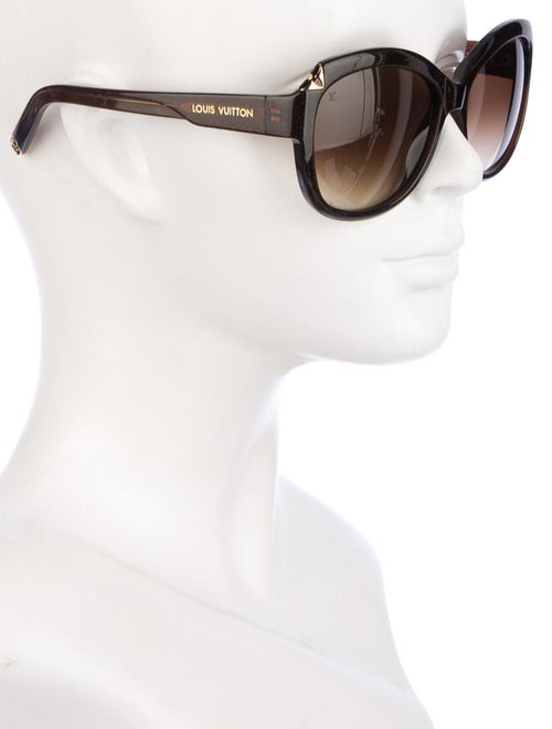 dc29246481 Louis Vuitton Hortensia Cat Eye Sunglasses - Accessories - LOU32663 ...