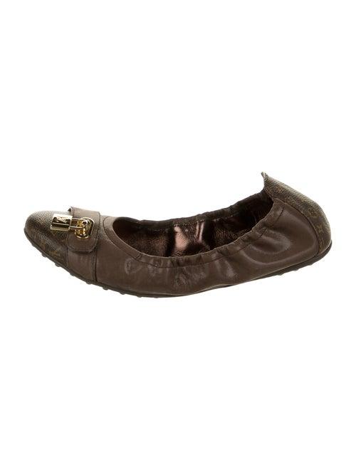 Louis Vuitton Ballet Flats Brown