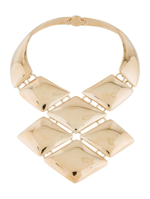 Louis Vuitton Statement Necklace Gold