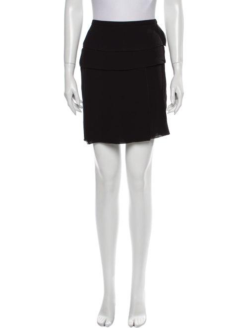 Louis Vuitton Silk Mini Skirt Black - image 1