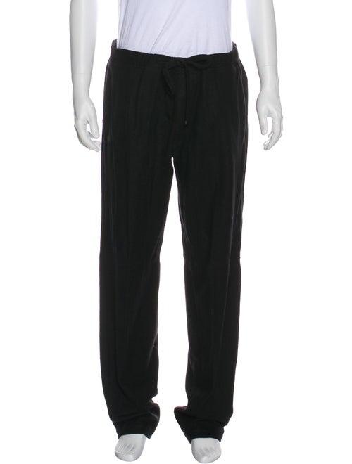 Louis Vuitton Wool Lounge Pants black