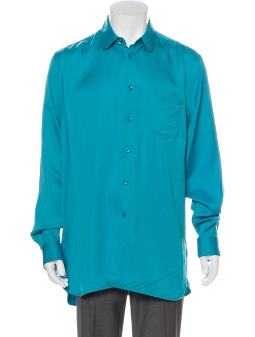Louis Vuitton Front Pocket DNA Button-Up Shirt tea