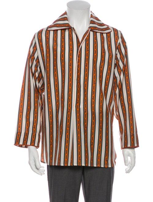 Louis Vuitton 2019 Chains Pyjama Shirt Grey