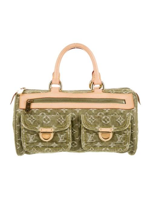 Louis Vuitton Denim Neo Speedy Bag Olive