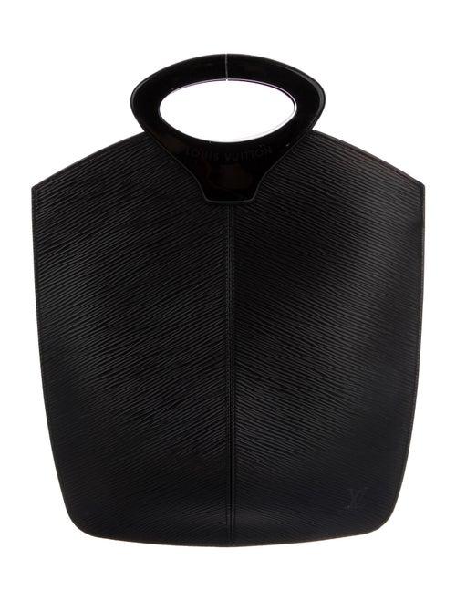 Louis Vuitton Epi Demi Lune Tote Black