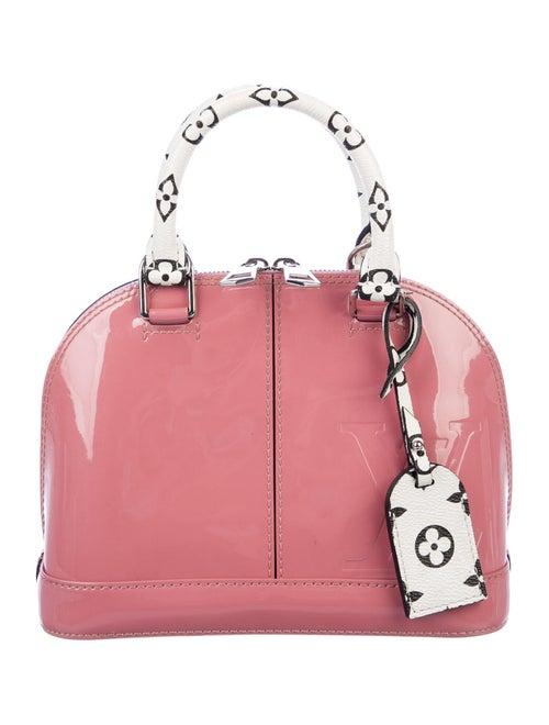Louis Vuitton Vernis Lisse Alma BB Bag Pink