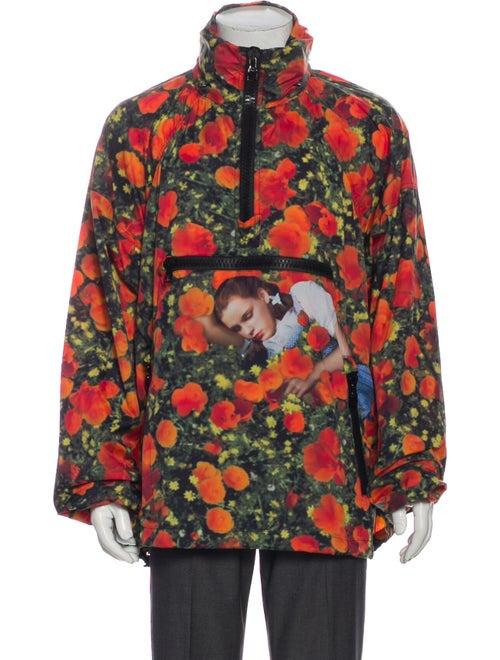 Louis Vuitton 2019 Poppies Dorothy Windbreaker w/
