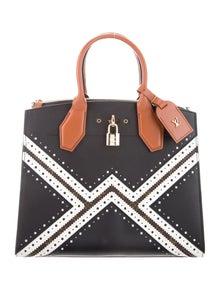 Louis Vuitton Brogue Monogram Reverse City Steamer MM Bag