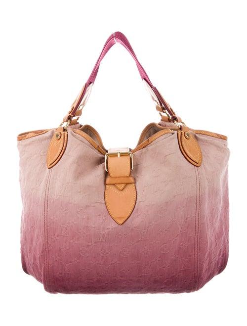 Louis Vuitton Denim Sunbeam Bag Plum