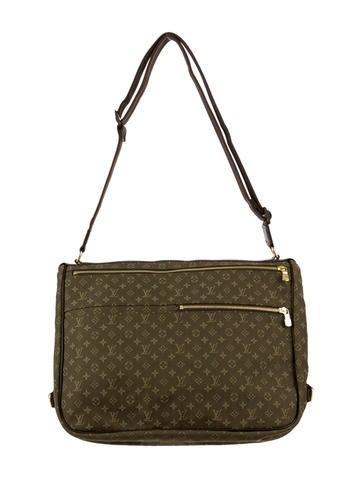 louis vuitton mini lin sac a langer baby bag handbags lou33702 the realreal. Black Bedroom Furniture Sets. Home Design Ideas