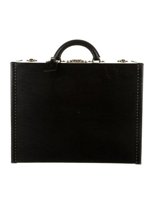 Louis Vuitton Epi Président Briefcase black