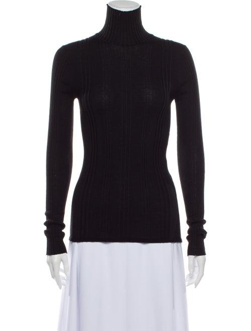 Louis Vuitton Turtleneck Long Sleeve Top Black