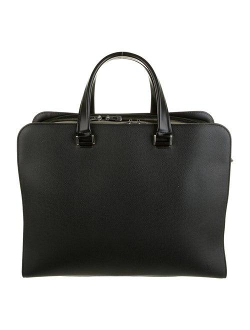 Louis Vuitton Taiga Nevski Briefcase black