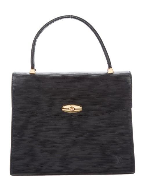 Louis Vuitton Epi Malesherbes Bag Black