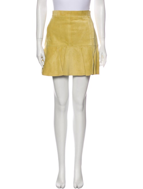 Louis Vuitton Mini Skirt Yellow