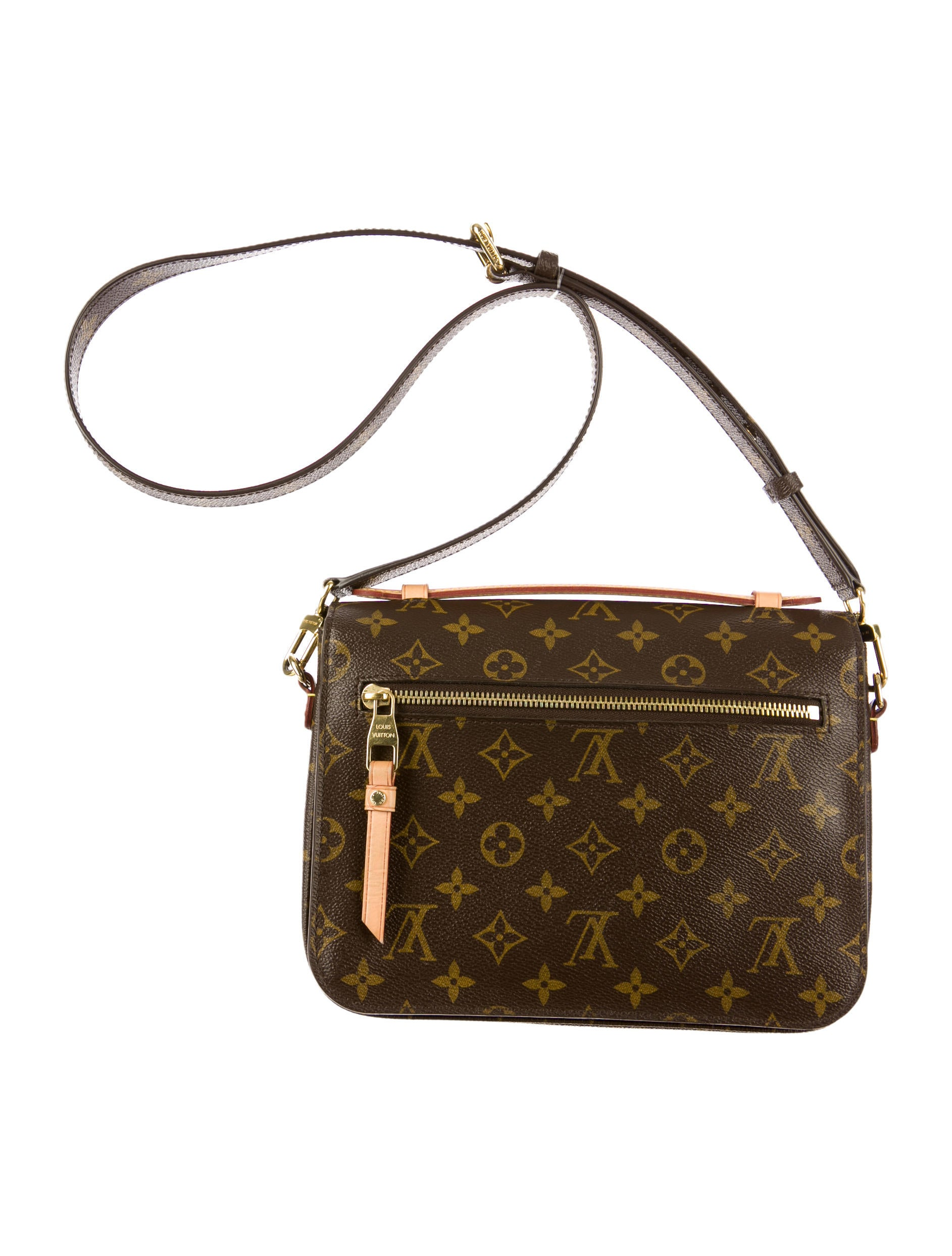 Louis Vuitton Monogram Pochette M233tis Handbags  : LOU340444enlarged from www.therealreal.com size 1885 x 2486 jpeg 310kB