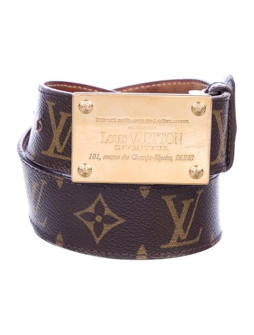 Louis Vuitton Vuitton Monogram Inventeur Belt brow