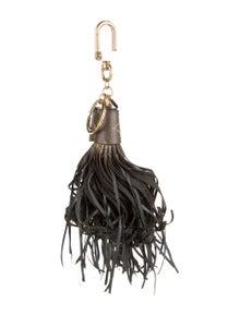 Louis Vuitton Monogram Tassel Keychain