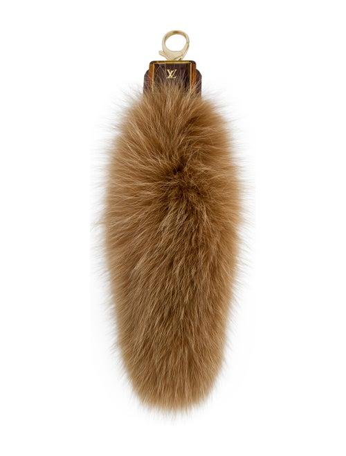 Louis Vuitton Foxy Bag Charm Tan