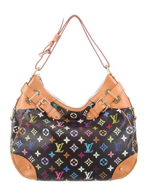 Louis Vuitton Multicolore Greta Bag Black