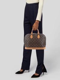 Louis Vuitton Vintage Monogram Alma Pm Handbags Lou342030 The Realreal