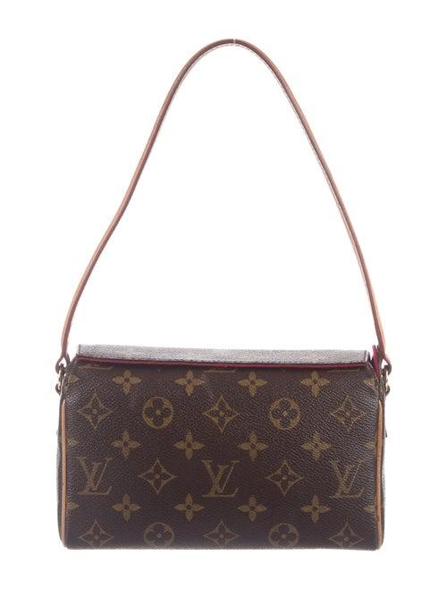 Louis Vuitton Monogram Recital Bag Brown