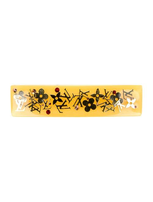 Louis Vuitton Inclusion Monogram Barrette Yellow