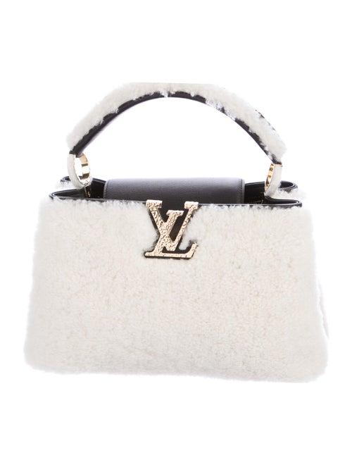 Louis Vuitton 2019 Teddy Fleece Capucines PM brass