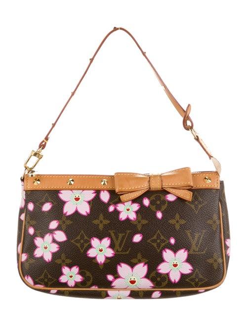 Louis Vuitton Monogram Cherry Blossom Pochette Acc