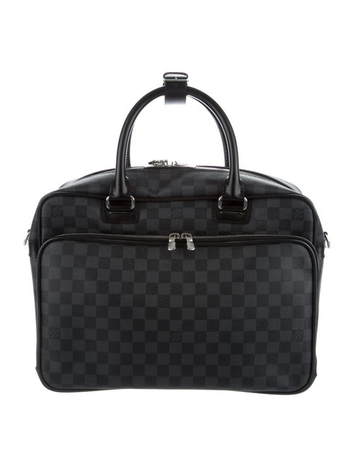 Louis Vuitton Damier Graphite Icare Laptop Bag sil