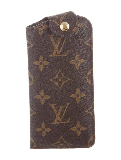 Louis Vuitton Monogram Etui Lunettes MM Brown