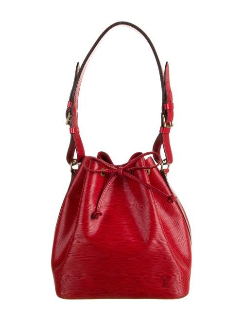 Louis Vuitton Vintage Epi Petit Noé Red