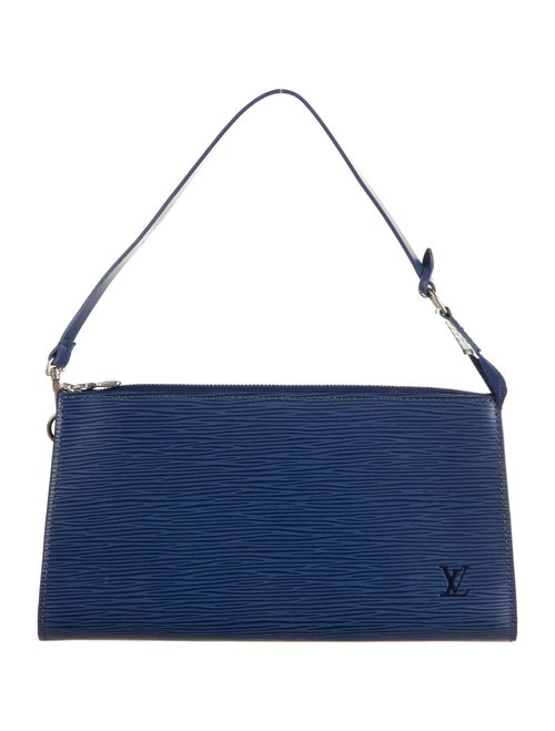 Louis Vuitton Epi Pochette Accessories 24 Indigo - image 1