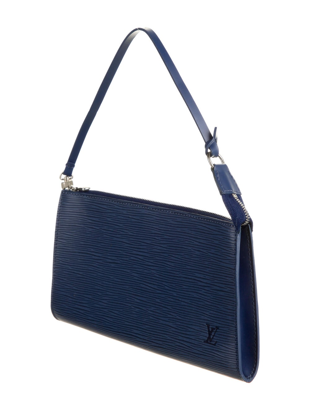 Louis Vuitton Epi Pochette Accessories 24 Indigo - image 3